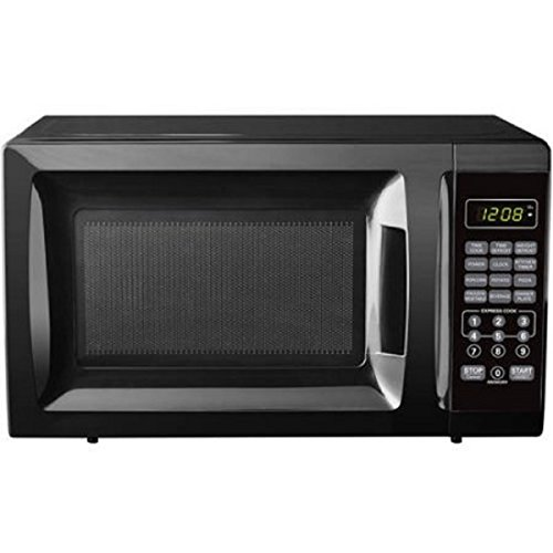 07-Cubic-Foot-Black-Child-Safe-Lockout-Feature-10-Power-Levels-6-Quick-Set-Menu-Buttons-LED-Display-Microwave-Oven-0