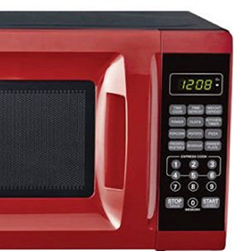 07-Cubic-Foot-Red-Child-Safe-Lockout-Feature-10-Power-Levels-6-Quick-Set-Menu-Buttons-LED-Display-Microwave-Oven-0-1