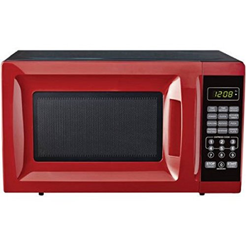 07-Cubic-Foot-Red-Child-Safe-Lockout-Feature-10-Power-Levels-6-Quick-Set-Menu-Buttons-LED-Display-Microwave-Oven-0