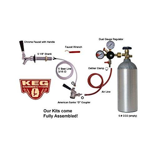 1-Faucet-refrigerator-Keg-Kit-for-Standard-Kegs-0