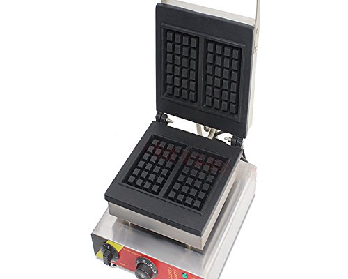 110V220V-Electric-Waffle-Maker-Machine-Rectangular-Pancakes-Baker-Oven-2-Pieces-0-1