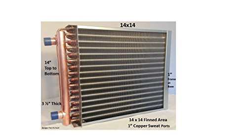 14×14-Water-to-Air-Heat-Exchanger-1-Copper-Ports-0
