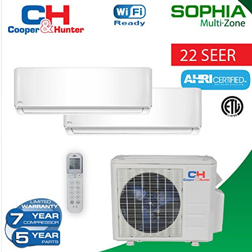 18000-BTU-2-Zone-Ductless-Mini-Split-21-SEER-Sophia-WiFi-Ready-0-0