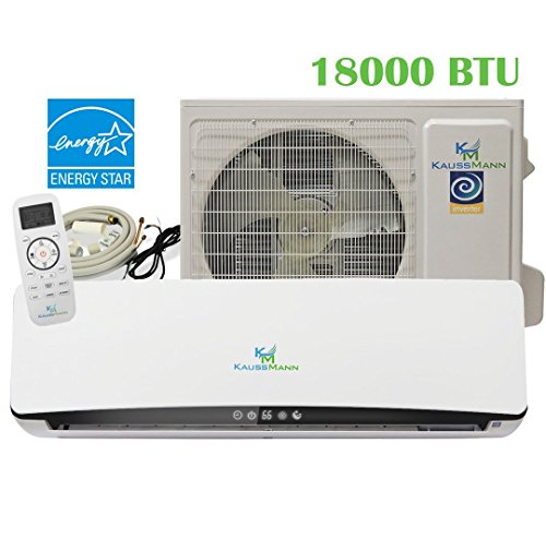 18000-Btu-15-Ton-233-SEER-Ductless-System-Mini-Split-Air-Conditioner-Inverter-Heat-Pump-Heating-Cooling-AC-unit-With-15-Feet-Installation-Kit-208230-VAC-0