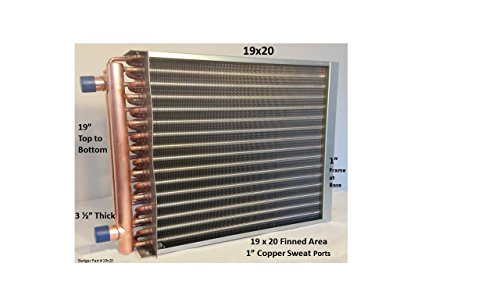 19×20-Water-to-Air-Heat-Exchanger-1-Copper-ports-0