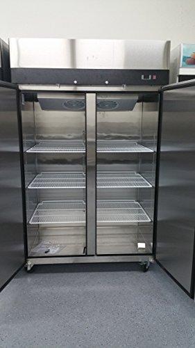 2-Door-Stainless-Steel-Reach-In-Commercial-Freezer-0-0