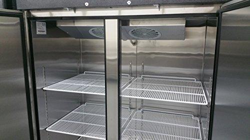 2-Door-Stainless-Steel-Reach-In-Commercial-Freezer-0-1