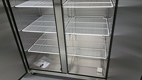 2-Door-Stainless-Steel-Reach-In-Commercial-Freezer-0-2