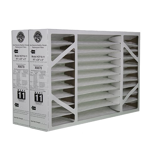 2-Pack-of-X6670-Lennox-OEM-Merv-11-Filter-Media-16X25X5-Fits-X6660-HCC16-28-Genuine-Lennox-X6670-0