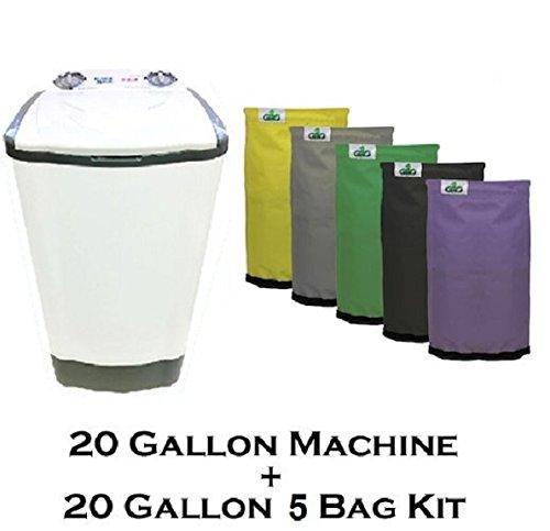 20-Gallon-Bubble-Magic-Washing-Machine-GRO1-Ice-Hash-Extraction-5-Bags-Kit-0