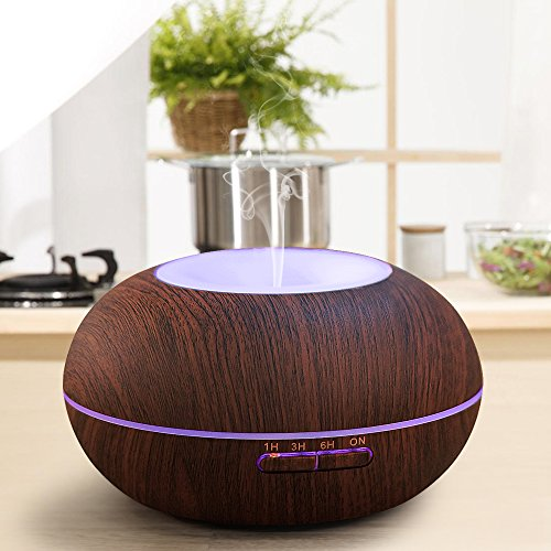 300ml-Cool-Mist-Humidifier-Ultrasonic-Aroma-Essential-Oil-Diffuser-Premium-Humidifying-Automatic-Shut-off-and-Night-Light-Function-for-Office-Home-Bedroom-Living-Room-Study-Yoga-Spa-0-2
