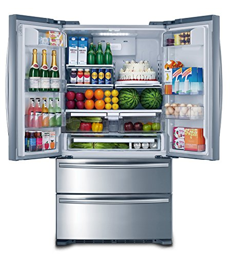 36-THOR-KITCHEN-Cabinet-Depth-Stainless-French-Door-Refrigerator-Ice-Maker-0-0