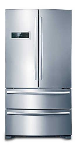 Avanti ff99d0w 24 top freezer refrigerator with 9 9 cu for Apartment size ice maker