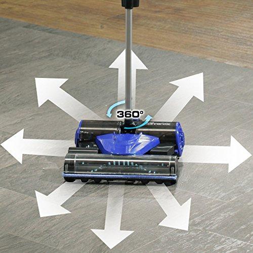 360-Degree-Spinner-Vac-Cordless-12V-Lithium-Ion-Lightweight-Stick-Vacuum-0-1