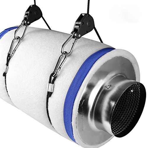 4-Air-Carbon-Charcoal-Filter-Inline-Fan-Scrubber-Odor-Control-Hydroponic-New-0-0
