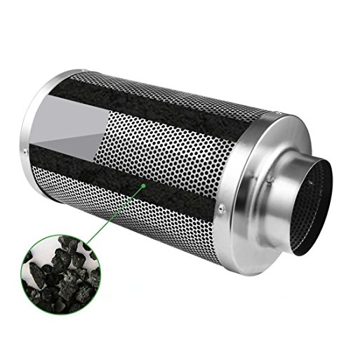 4-Air-Carbon-Charcoal-Filter-Inline-Fan-Scrubber-Odor-Control-Hydroponic-New-0-2