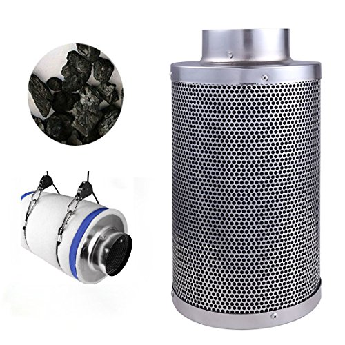 4-Air-Carbon-Charcoal-Filter-Inline-Fan-Scrubber-Odor-Control-Hydroponic-New-0