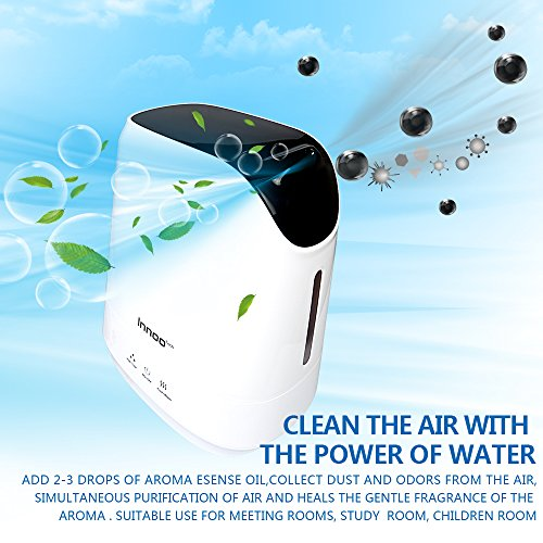42L-Warm-Cool-Mist-Humidifiers-Innoo-Tech-Ultrasonic-Air-Purifier-with-Aromatherapy-Touch-Control-Whisper-quiet-Operation-Auto-Shut-off-for-Baby-bedroom-Nursery-bedding-Office-Living-Room-0-1