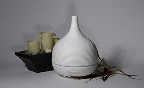 500ML-Luxury-Aroma-DiffuserHumidifier-Aromatherapy-Essential-Oil-Diffuser-Baby-Yoga-Room-Ultrasonic-Quiet-Cool-Mist-Adjustable-LED-Light-therapy-AquaTherapy-Spa-Quality-Air-INTHELOOP-0-0