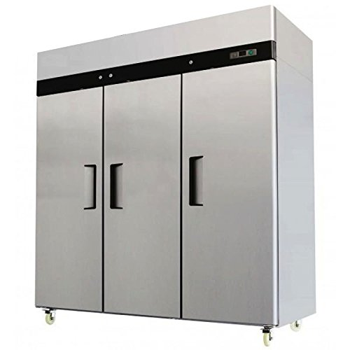 78-Triple-3-Door-Side-By-Side-Stainless-Steel-Reach-in-Commercial-Refrigerator-MBF-8006-72-Cubic-Feet-for-Restaurant-0