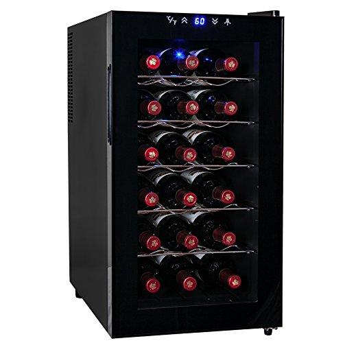 AKDY-18-Bottle-Single-Zone-Thermoelectric-Freestanding-Wine-Cooler-Cellar-Chiller-Refrigerator-Fridge-Quiet-Operation-0
