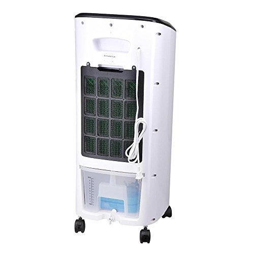 AMPERSAND-SHOPS-Portable-7-Liter-Capacity-Evaporative-Cooler-and-Humidifier-with-Timer-and-Remote-Control-0-1