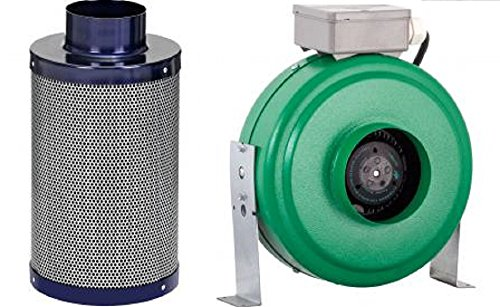 Active-Air-4-Inline-Duct-Fan-4-x-14-Carbon-Filter-Combo-Filter-Package-0