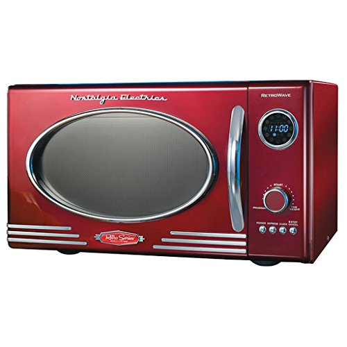 Adds A Nostalgic Touch To Your Kitchen, Retro Microwave