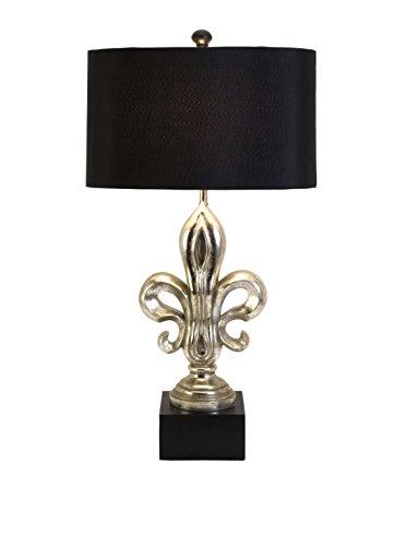 Adorable-Silver-Fleur-de-Lis-Lamp-0