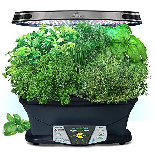 AeroGarden-Extra-LED-with-Gourmet-Herb-Seed-Pod-Kit-0