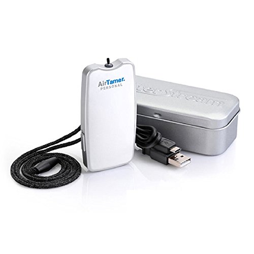 AirTamer-A310-Air-Purifier-Portable-Rechargeable-Personal-Negative-Ion-Generator-with-Proprietary-Conductive-Lanyard-Black-0