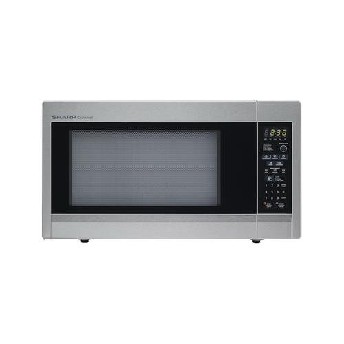 Almo-Distributing-Wisconsin-R551ZS-Countertop-Microwave-Full-Size-Stainless-Steel-18-Cu-Ft-1100-Watt-0-0