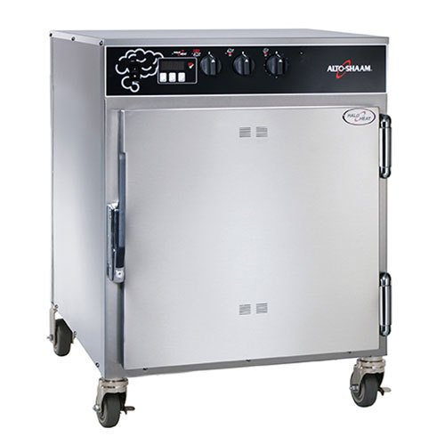 Alto-Shaam-767-SKIII-Mobile-Cook-and-Hold-Smoker-Oven-with-Deluxe-Control-Holds-9-Food-Pans-0