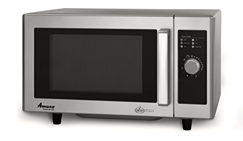 Amana-RMS10DS-08-Cubic-Feet-1000-Watt-Light-Duty-Microwave-Oven-with-Dial-Timer-Stainless-Steel-0
