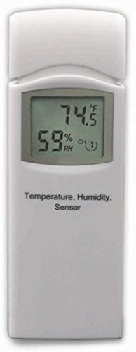 Ambient-Weather-WS-3000-X5-Wireless-Thermo-Hygrometer-with-Logging-Graphing-Alarming-Radio-Controlled-Clock-with-5-Remote-Sensors-White-0-2