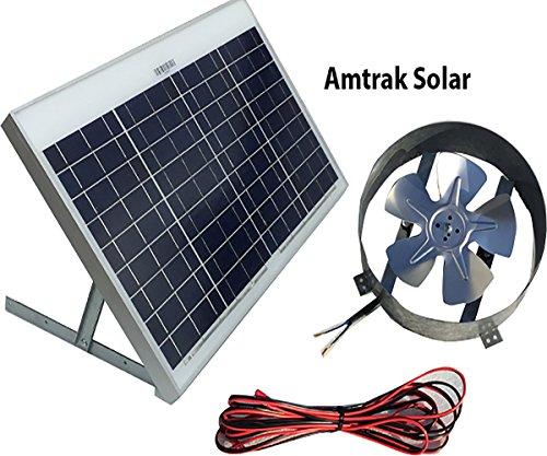 Amtrak-Solar-Powered-Attic-Gable-Fan-40-Watt-Ventilator-25-Year-Warranty-0