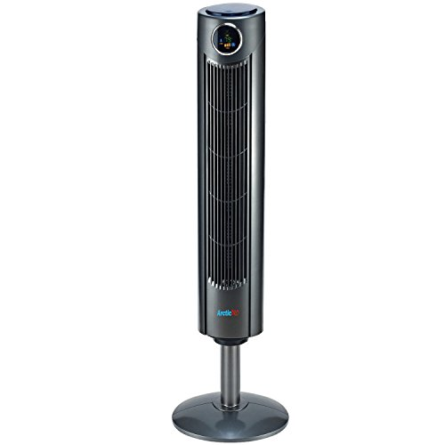 Arctic-Pro-Digital-Screen-Oscillating-Tower-Fan-with-Remote-Control-Dark-Gray-42-Inch-0
