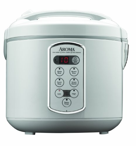 Aroma-Housewares-Professional-20-Cup-Cooked-10-Cup-UNCOOKED-Digital-Rice-Cooker-and-Food-Steamer-Stainless-Steel-Exterior-ARC-2000A-0