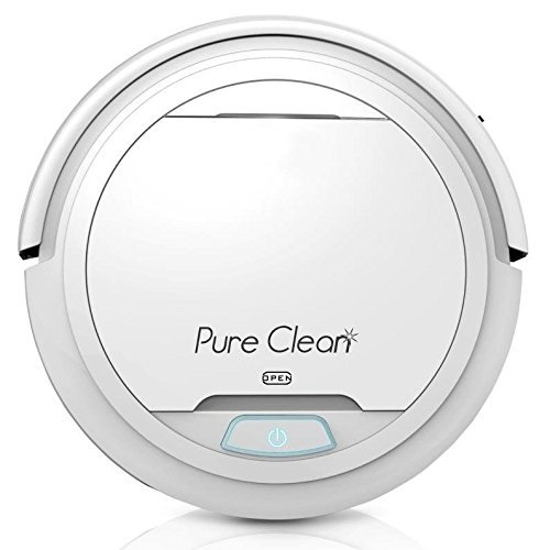 Automatic-Robot-Vacuum-Cleaner-Robotic-Auto-Home-Cleaning-for-Clean-Carpet-Hardwood-Floor-Robo-Vac-Bot-Self-Detects-Stairs-HEPA-Filter-Pet-Hair-Allergies-Friendly-PureClean-PUCRC25-White-0