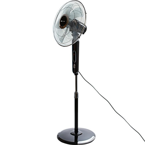 Avalon-16-Inch-Standing-Fan-Adjustable-Height-Digital-Display-Oscillating-6-Speed-Stand-Fan-Includes-Remote-4-Wind-Modes-Max-Cool-Technology-Safety-Shut-Off-0-0