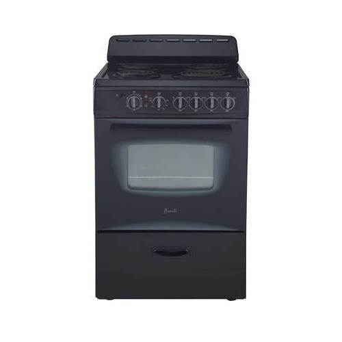 Avanti-ER24P1BG-24-Freestanding-Electric-Range-with-Deluxe-See-Thru-Glass-Oven-Door-in-Black-0-0