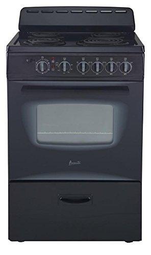 Avanti-ER24P1BG-24-Freestanding-Electric-Range-with-Deluxe-See-Thru-Glass-Oven-Door-in-Black-0