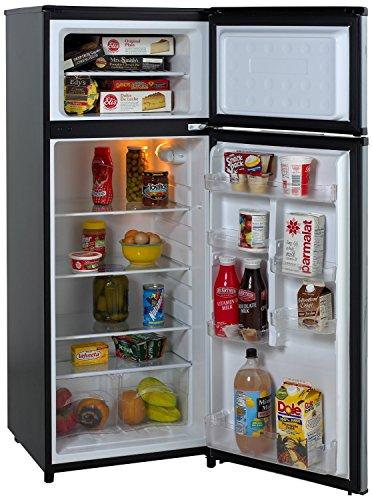 Avanti-RA7316PST-2-Door-Apartment-Size-Refrigerator-Black-with-Platinum-Finish-0