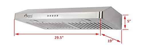 Awoco-RH-UC085-5-High-Stainless-Steel-Under-Cabinet-3-Speeds-800CFM-Range-Hood-with-Lights-3036-0-2