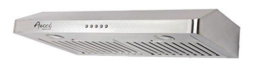 Awoco-RH-UC085-5-High-Stainless-Steel-Under-Cabinet-3-Speeds-800CFM-Range-Hood-with-Lights-3036-0
