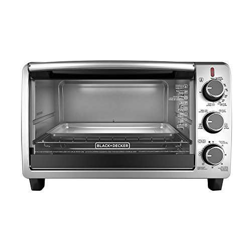 BLACKDECKER-TO1950SBD-6-Slice-Convection-Countertop-Toaster-Oven-Includes-Bake-Pan-Broil-Rack-Toasting-Rack-Stainless-SteelBlack-Convection-Toaster-Oven-0