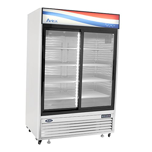 BRAND-NEW-COMMERCIAL-2-Sliding-glass-door-refrigerator-Stainless-Steel-0
