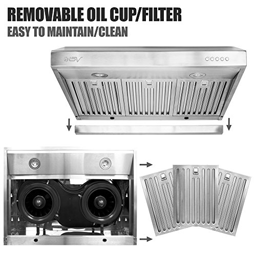 BV-Stainless-Steel-30-Under-Cabinet-High-Airflow-800-CFM-Ducted-Range-Hood-with-LED-Lights-0-1