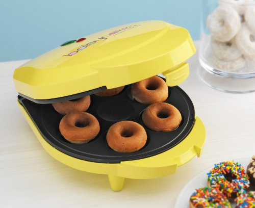 Babycakes-DN-6-Mini-Doughnut-Maker-Yellow-6-Donut-0-2