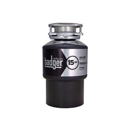 Badger-Insinkerator-15ss-Garbage-disposal-0